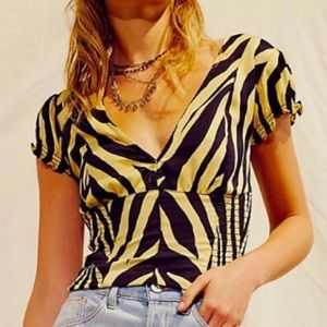 NWT Free People Show Me Love Top, size Medium